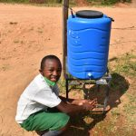 The Water Project: Kitambazi Primary School -  Lesley Full Of Smiles While Handwashing