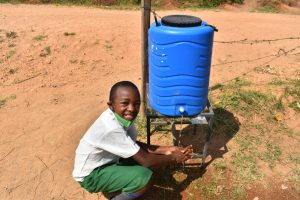 The Water Project:  Lesley Full Of Smiles While Handwashing