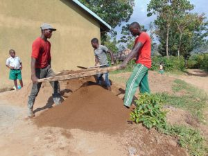 The Water Project:  Sieving Sand
