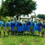 The Water Project: Ibokolo Primary School -  Group Photo After First Training Session Pre Covid