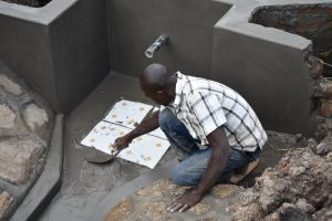 The Water Project:  Placing The Tiles