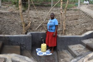 The Water Project:  Jane At The Spring