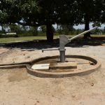 The Water Project: Ibokolo Primary School -  Complete Borehole