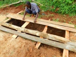 The Water Project:  Covering Pits
