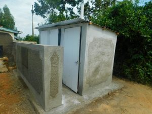 The Water Project:  Side View Of Latrine Block