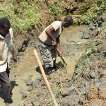 The Water Project: Emutetemo Community, Lubale Spring -  Excavation