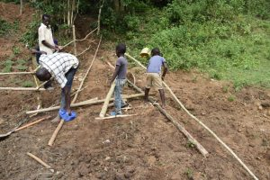 The Water Project:  Setting Up Of Protective Fence