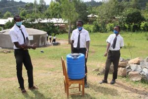 The Water Project:  Happy For The Handwashing Point