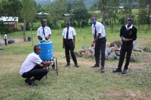 The Water Project:  Thanks For The Handwashing Station