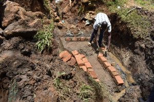 The Water Project:  Bricksetting