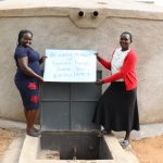The Water Project: Friends Mixed Secondary School Lwombei -  Director Catherine Chepkemoi With Teacher Say Thanks