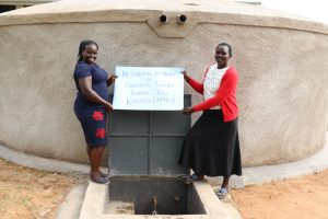 The Water Project:  Director Catherine Chepkemoi With Teacher Say Thanks