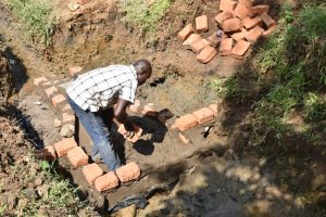 The Water Project:  Bricklaying Begins