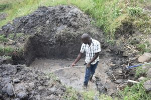 The Water Project:  Confirming Measurements Of Excavated Area