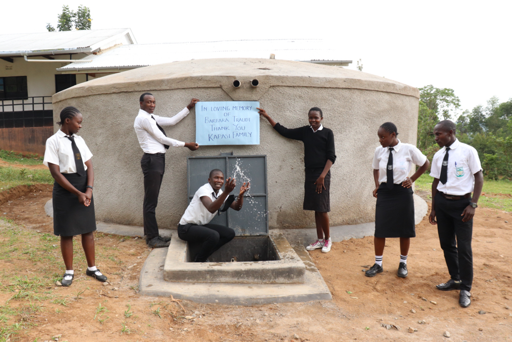 The Water Project : 6-kenya21203-celebrating-water-at-school-3