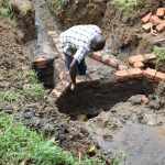 The Water Project: Emutetemo Community, Lubale Spring -  Raising The Walls