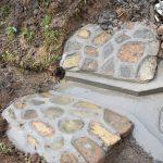 The Water Project: Mushikulu B Community, Olando Spring -  Plastered Stone Pitching