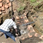The Water Project: Emutetemo Community, Lubale Spring -  Setting The Pipe