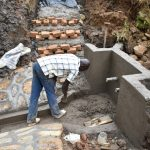The Water Project: Mushikulu B Community, Olando Spring -  Construction Of Staircase