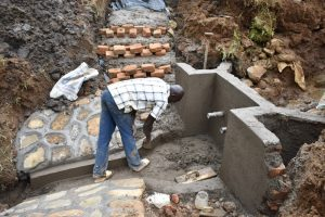 The Water Project:  Construction Of Staircase