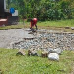 The Water Project: Friends Mixed Secondary School Lwombei -  Laying Concrete Layer