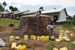 The Water Project:  Mixing Cement For The Dome