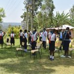 The Water Project: Friends Mixed Secondary School Lwombei -  Contactless Greetings