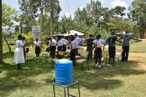 The Water Project:  Physical Distancing Check
