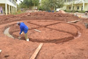 The Water Project:  Beginning Foundation Work