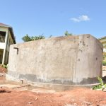 The Water Project: Kalisasi Secondary School -  Finished Tank