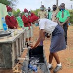 The Water Project: Kalisasi Secondary School -  Handwashing