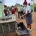 The Water Project: Kalisasi Secondary School -  Handwashing Demonstration