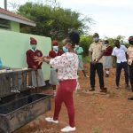 The Water Project: Kalisasi Secondary School -  Handwashing With Soap Demonstration