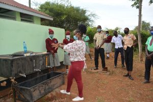 The Water Project:  Handwashing With Soap Demonstration