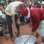 The Water Project: Kalisasi Secondary School -  Mixing Soap