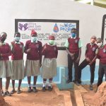The Water Project: Kalisasi Secondary School -  Students At Their New Tank