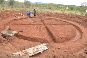 The Water Project:  Tank Foundation Prep