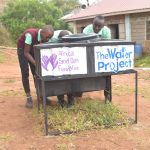 The Water Project: Kalisasi Secondary School -  Using The New Handwashing Station