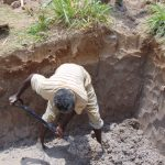 The Water Project: Elwichi Community, Mulunda Spring -  Site Excavation