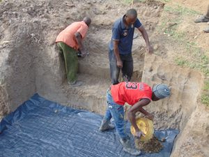 The Water Project:  Laying Foundation