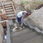 The Water Project: Elwichi Community, Mulunda Spring -  Stairs Construction