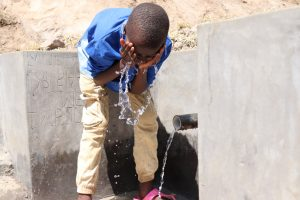 The Water Project:  Victor Cooling Off
