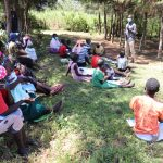 The Water Project: Elwichi Community, Mulunda Spring -  Discussing Leadership Qualities