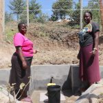 The Water Project: Elwichi Community, Mulunda Spring -  Women Pose At The Spring