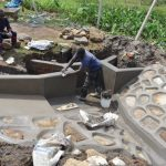 The Water Project: Isanjiro Community, Musambai Spring -  Plaster Works