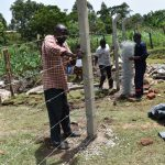 The Water Project: Isanjiro Community, Musambai Spring -  Fencing