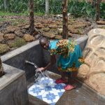 The Water Project: Isanjiro Community, Musambai Spring -  Mercy Celebrating Water