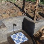 The Water Project: Isanjiro Community, Musambai Spring -  Water Flowing