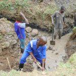 The Water Project: Mukoko Community, Zebedayo Mutsotsi Spring -  Site Excavation