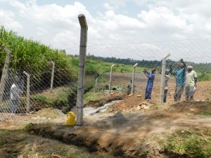 The Water Project:  Fencing